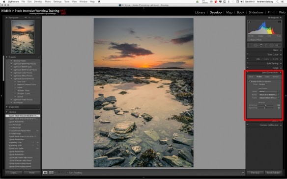Screen Shot 2016 04 02 at 09.42.27 Lightroom CC 2015: Lens metadata field missing on import