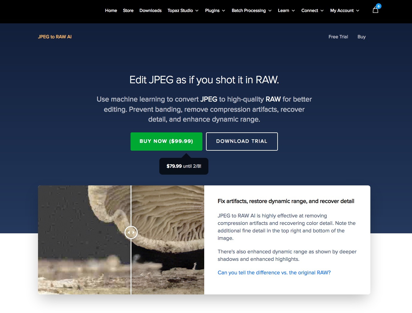 Topaz JPEG to RAW AI Review - Andy Astburys' Photography Blog