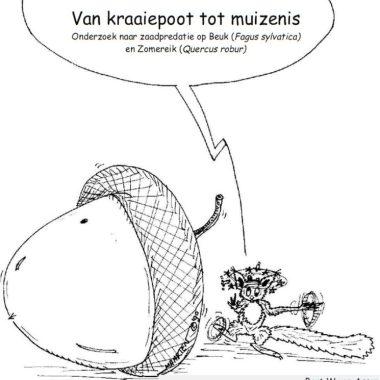 Van Kraaiepoot tot Muizenis, Onderzoek naar zaadpredatie op Beuk (Fagus sylvatica) en Zomereik (Quercus robur), 1993 Assen & Schuurmans