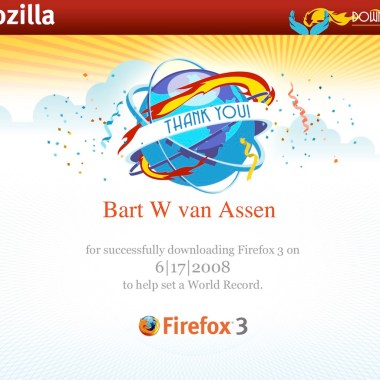 Mozilla Download Day