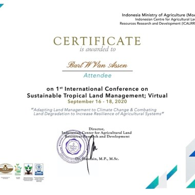 International Conference on Sustainable Tropical Land Management