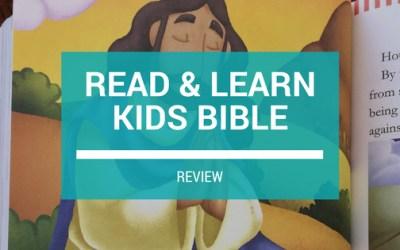 Read & Learn Kids Bible Review