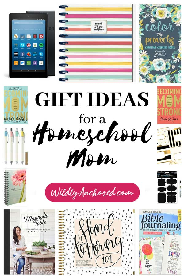 17 Gift Ideas for a Homeschool Mom