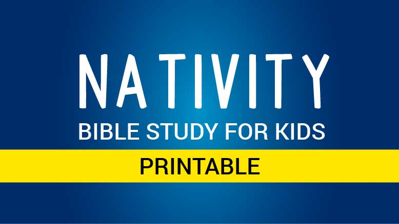Nativity Bible Study for Kids