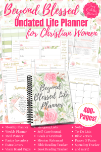 Beyond Blessed Digital Life Planner (Undated)
