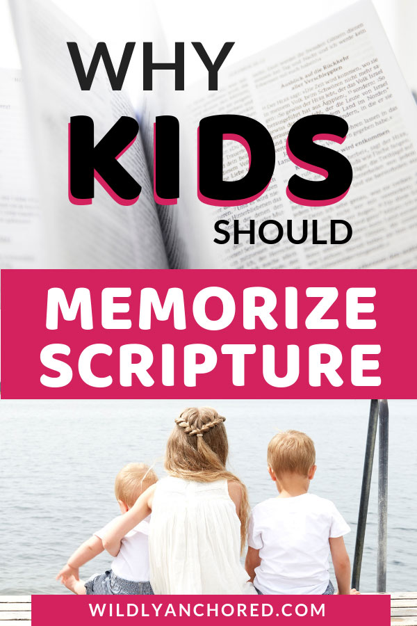 Find out why kids should memorize scripture and how it's a matter of their destiny!! + FREE Scripture Cards #ChristianFamily #ChristianKids #memorizescripture #scripturememorization