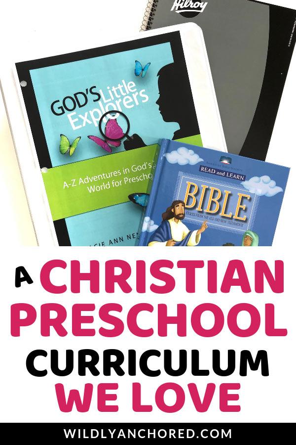 A Christian preschool curriculum that includes adventure, education and fun! #preschool #preschoolcurriculum #Christianpreschool