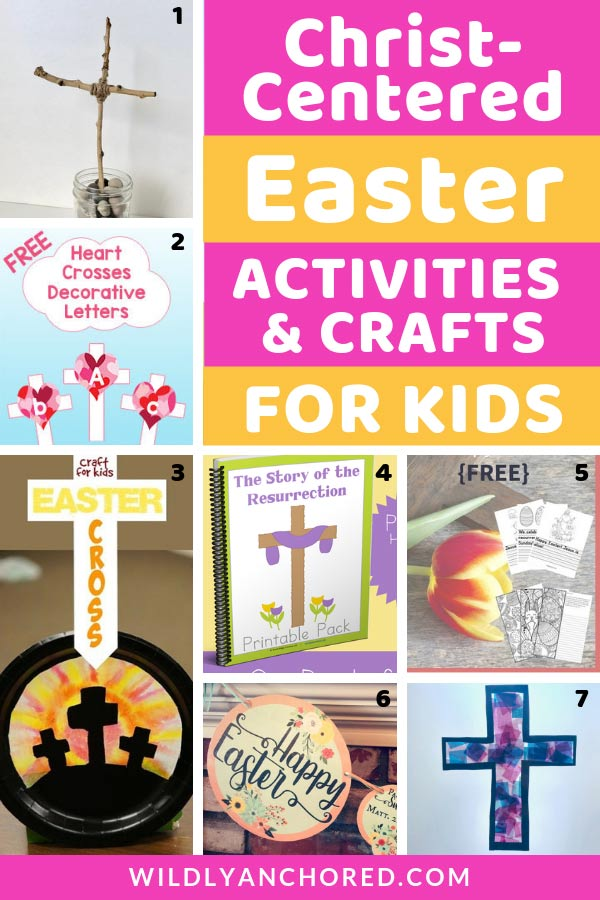 There are many AMAZING Christ-Centered Easter activities and crafts you can do with your kids! #Easter #ChristianEaster #EasterCrafts