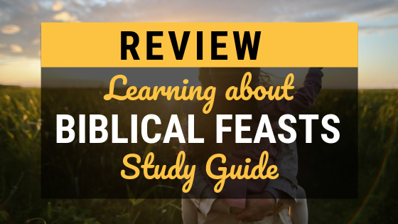 Studying and learning about the Biblical feasts helps you to know God more and celebrate what He's done. As a family, dig into this open-and-go study guide! #Christian #BiblicalFeasts #Bible