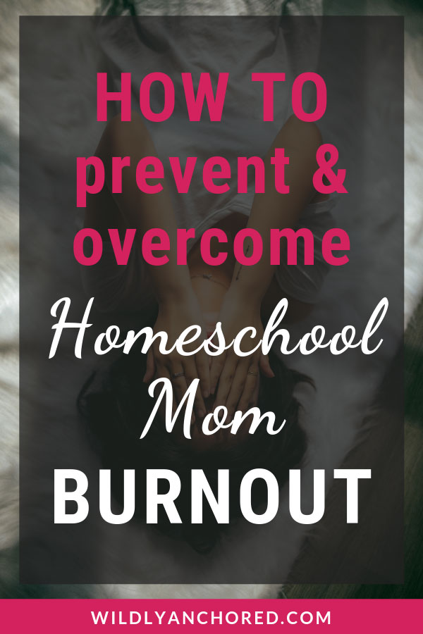 Homeschool mom burnout is real. We get tired and weary with all that we do, because homeschooling isn't easy. Find out how to prevent and homeschooling mom burnout with these 7 ideas. #homeschoolmom #homeschooling #homeschoolroutine