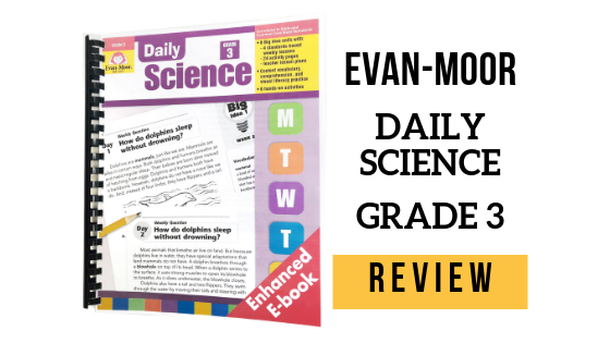 REVIEW: Evan-Moor Daily Science Grade 3 | Wildly Anchored