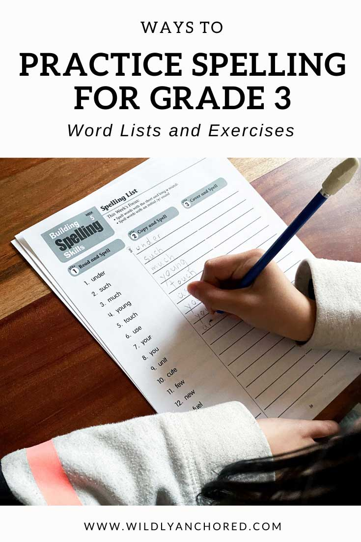 Help your child retain how to spell words with the Evan-Moor Building Spelling Skills Grade 3 E-Book