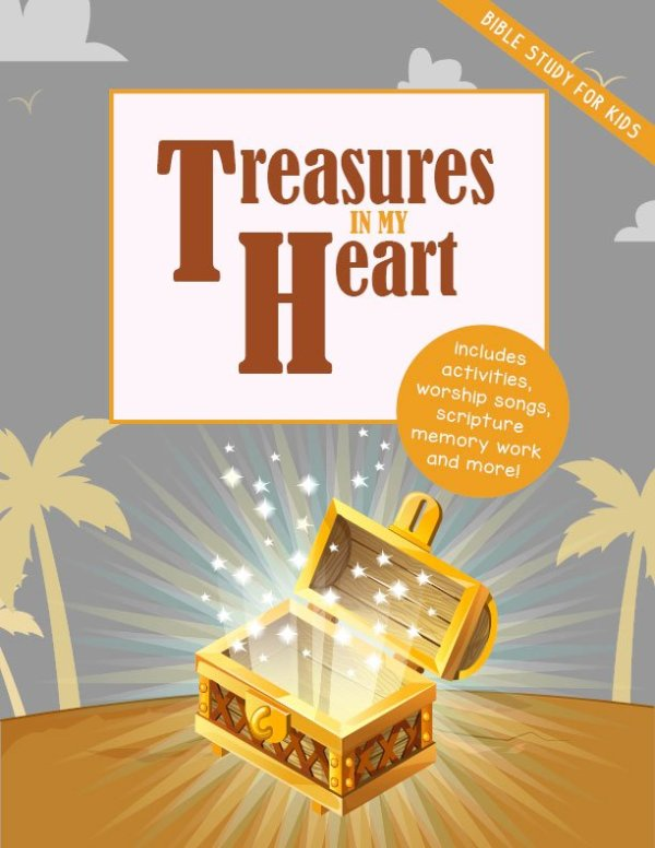 Treasures In My Heart Bible Study For Kids