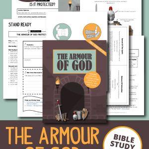 The Armour Of God Bible Study For Kids (Printable)