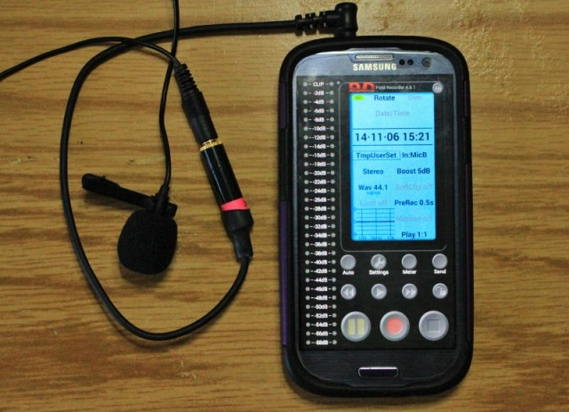 Audio Recording With a Smartphone