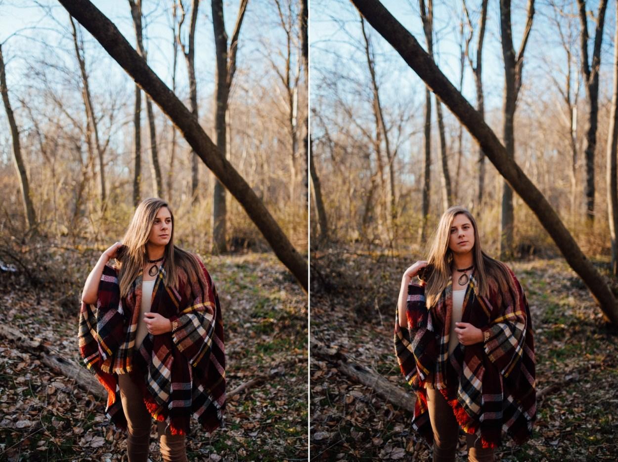 Pittsburgh Rustic Senior Portraits
