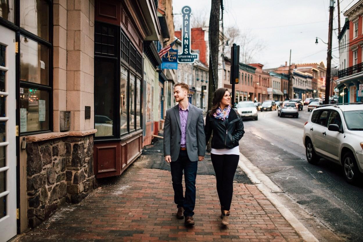 Engagement Session Ellicott City Maryland