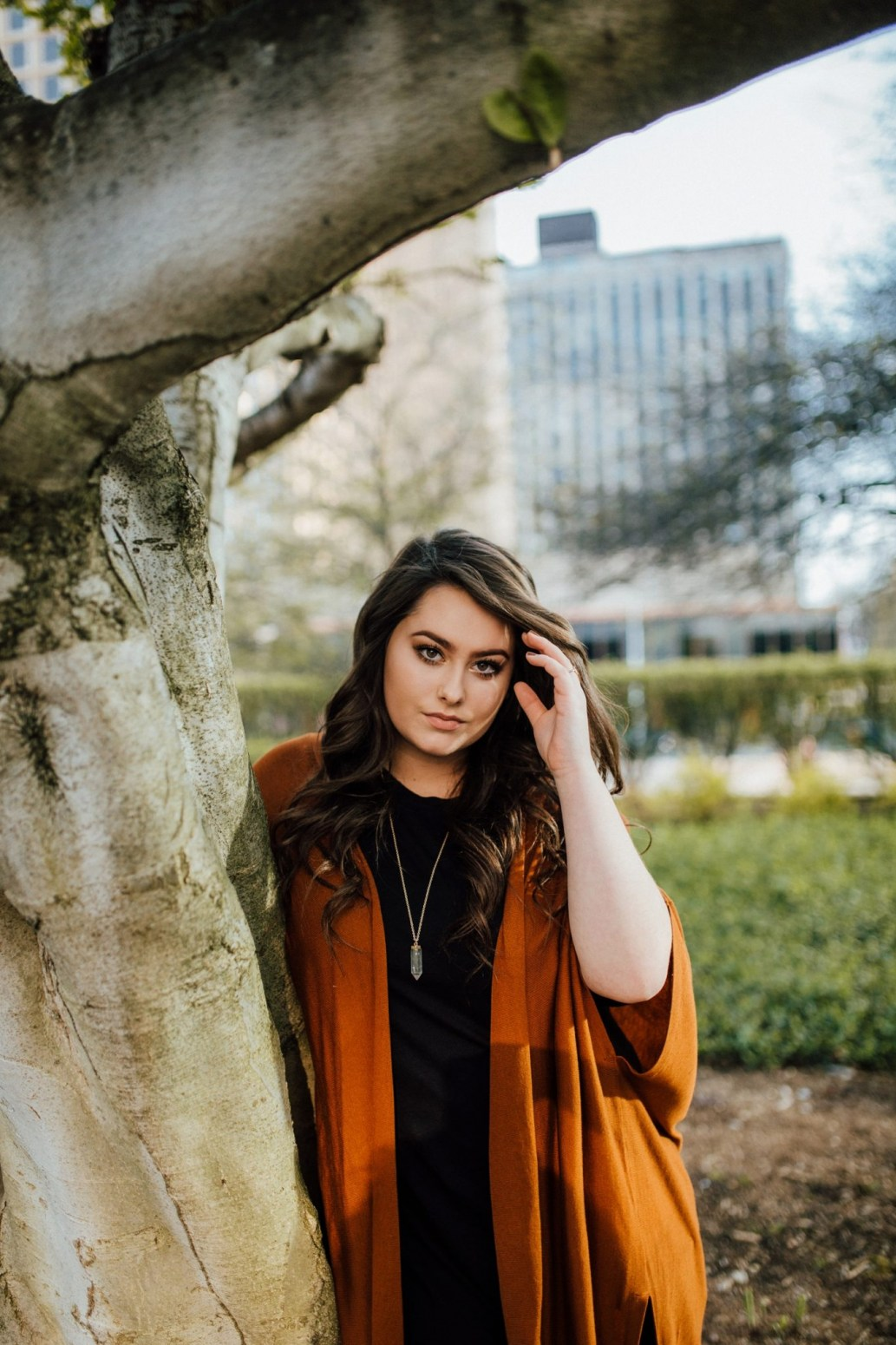 High School Senior Portrait Session Downtown Pittsburgh