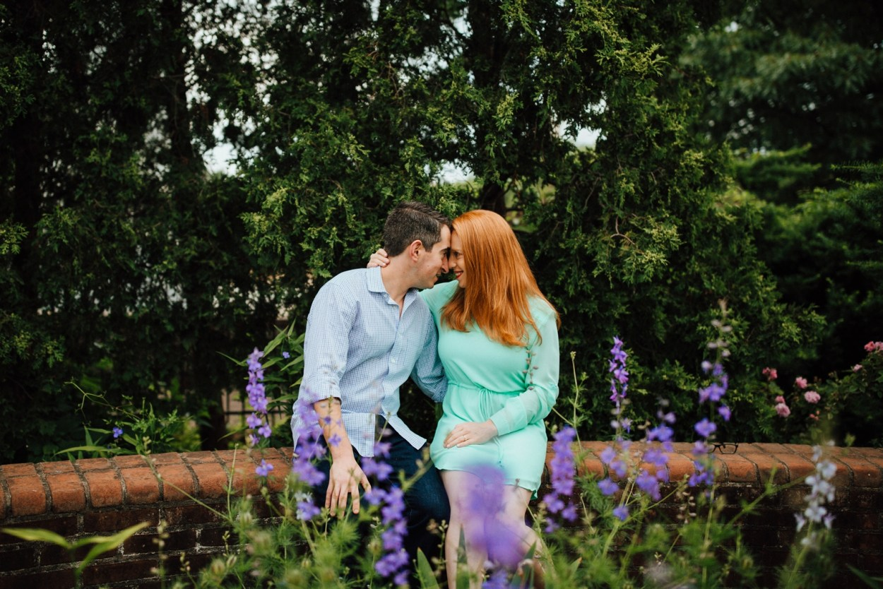 Pittsburgh Engagement Schenley Park Phipps Conservatory