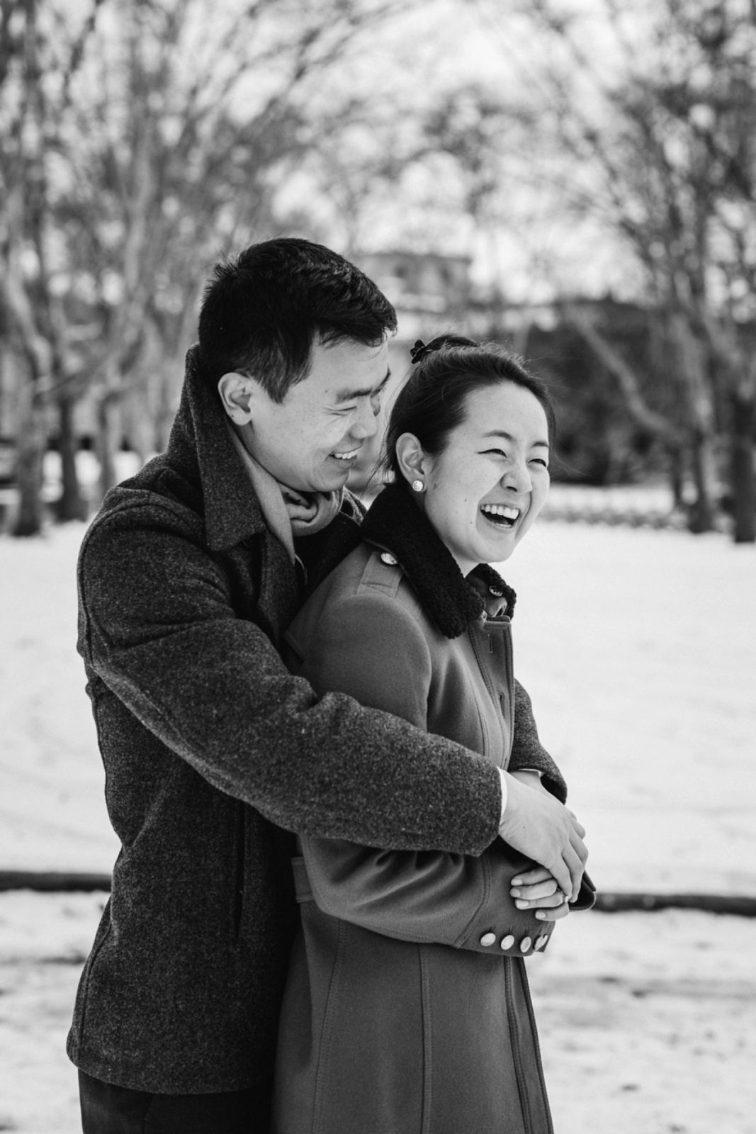Pittsburgh Engagement Photographer Oakland Carnegie Library