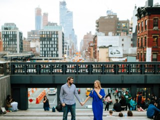 Ali + Steve - New York City Engagement