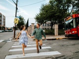Danica + Zach - Strip District Engagement