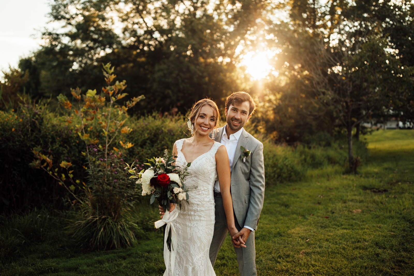 Gaithersburg Maryland Backyard Wedding Washington DC Photographer