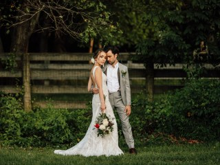 Charity + Adam - Gaithersburg Maryland Backyard Wedding