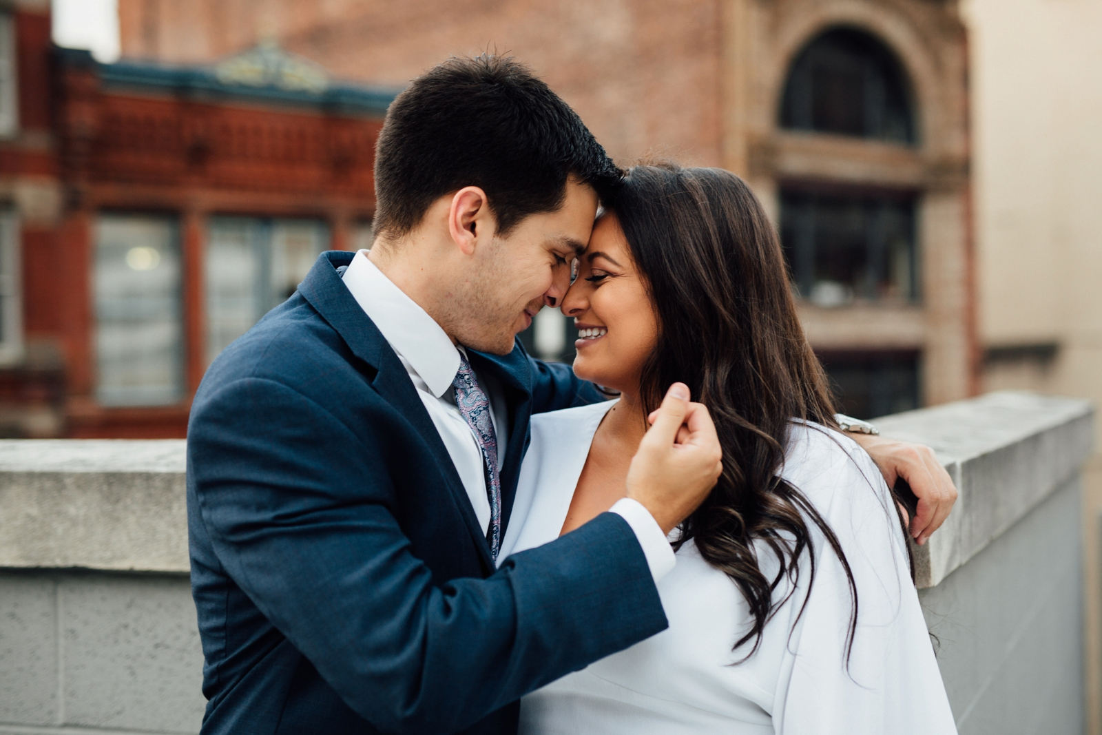Downtown Pittsburgh Engagement Photographer