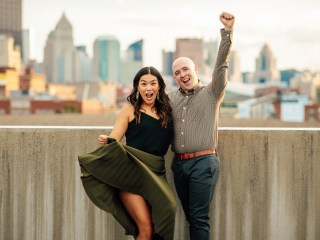 Andrea + Keenan - Pittsburgh Engagement Session
