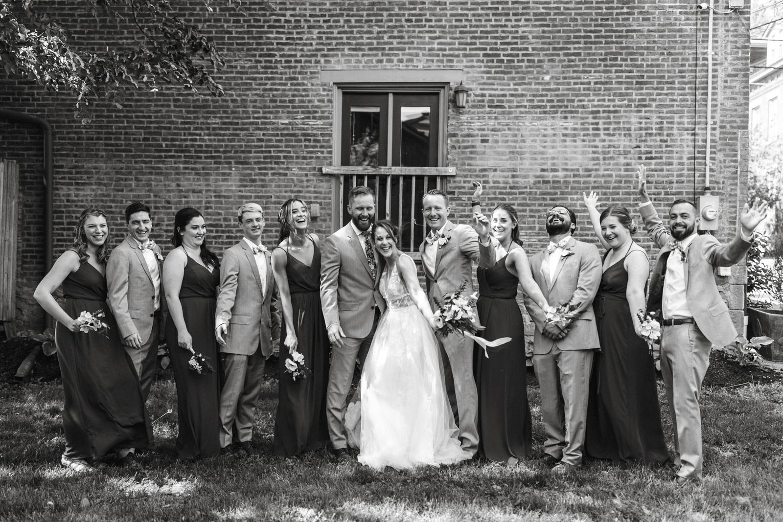 Pittsburgh Wedding Photographer Mattress Factory Museum