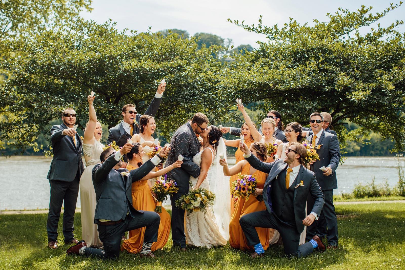 Pittsburgh Wedding Photographer Deertrak Golf Club