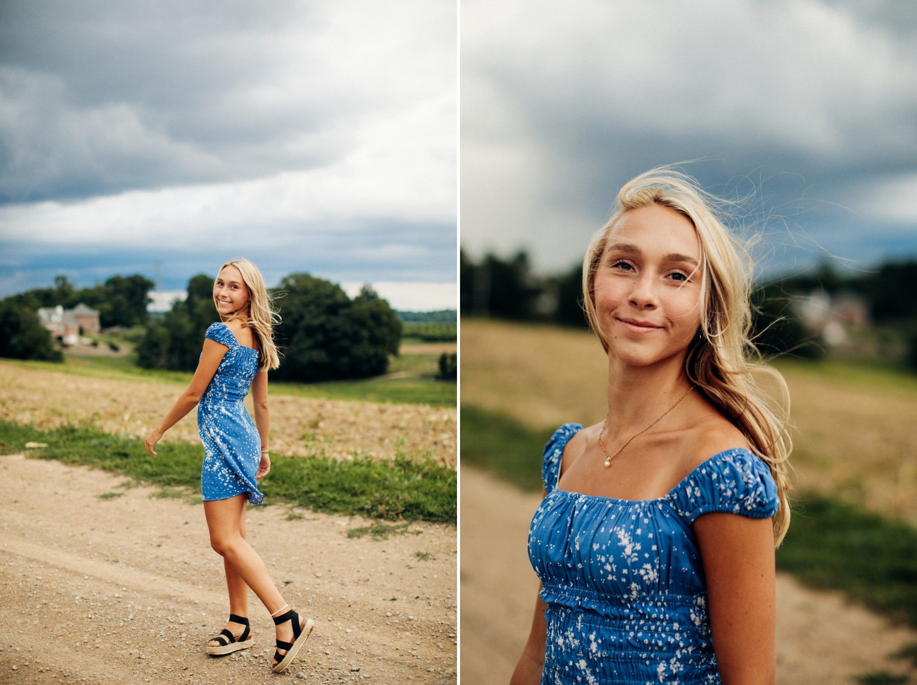 Simmons farm high school senior portrait pittsburgh photographer