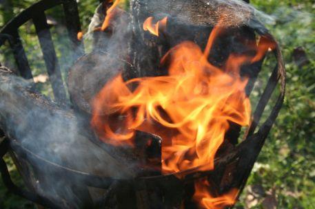 Bij een wildbeleving hoort vuur
