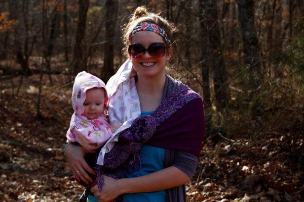 Kady's first hike!