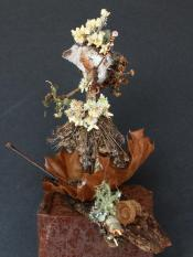 Acorn Folk Sorceress by Madison Woods.