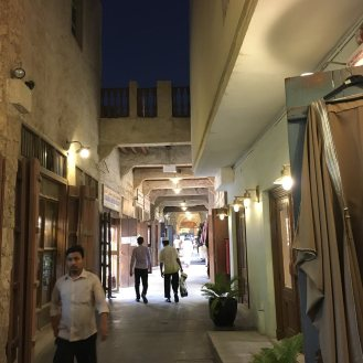 One of the alleys at Souq Waqif.