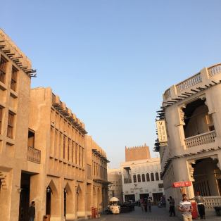 We arrived at Souq Waquif a little bit before sundown. Still very hot outside.