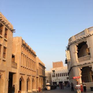 We arrived at Souq Waquif a little bit before sundown. Still very hot outside.
