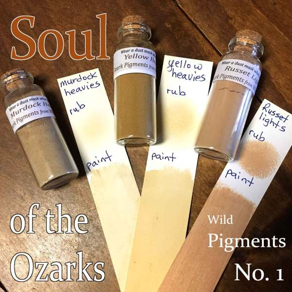 Ozark earth pigment Murdock Heavies is included in this listing.