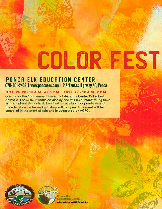 Autumn is on the way as I write this post, but by the time of Color Fest it will definitely be here and in full swing!