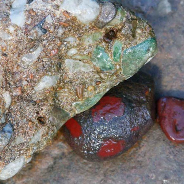 The red embedded in another stone. It will give me the color I want in my Blood of the Ozarks colors.