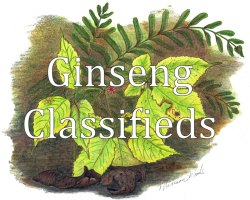 Ginseng Classifieds