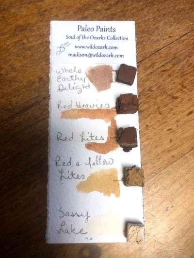 A set of Mini's from Wild Ozark Paleo Paints