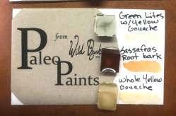 A Soul of the Ozarks Triple Mini set of Paleo Paints.