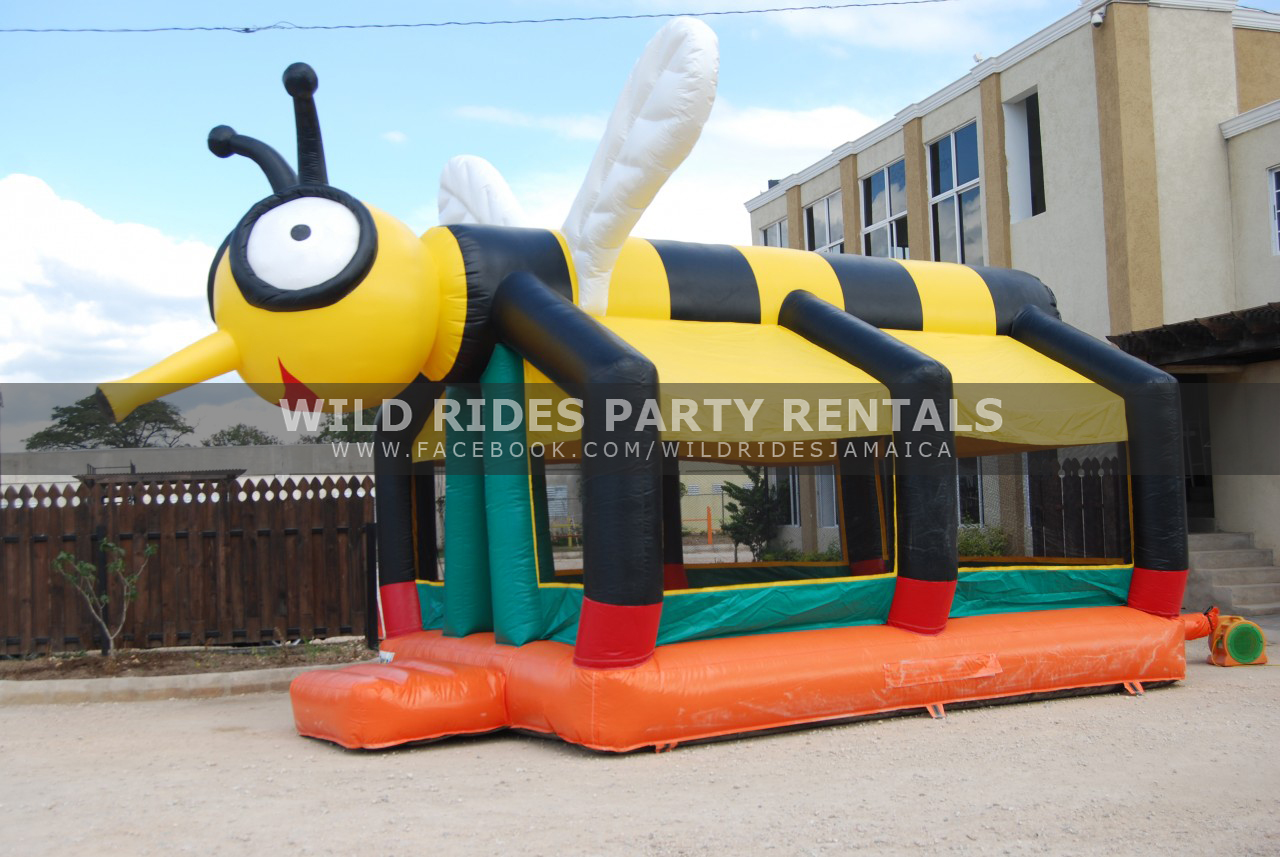 Busy Bee Inflatable Bouncer Castle