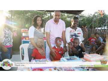 good morning the weekend was great ended with a sunday trio birthday party at