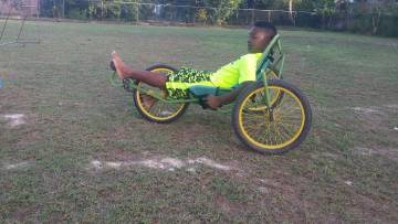 how many wheels are on a wild rides fun trike