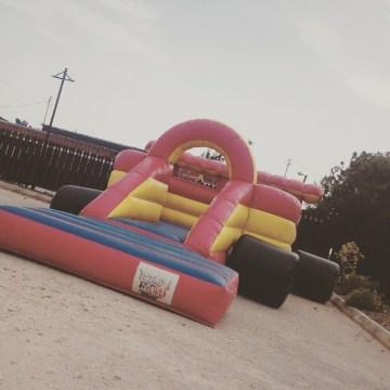inflatable car bouncer all setup wildridesja wildridesjamaica