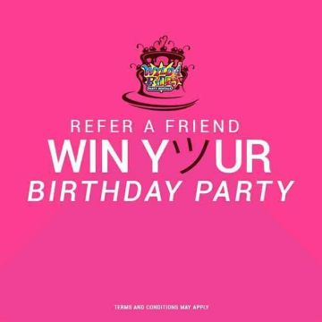 invite friends for chances to wininvite friends to join wild rides party rent